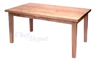 Chef Depot Maple Tables