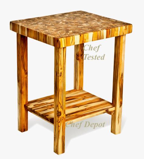 pro teak proteak acacia wood butcher block antique