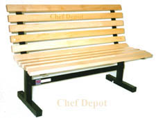 Chef Depot Maple Garden Bench
