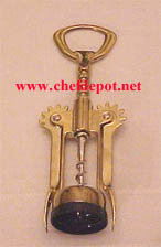 Brass Wing Wine Opener