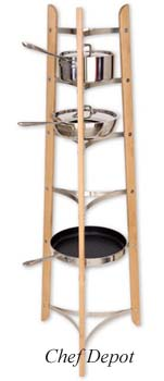 JK Adams Pot Rack