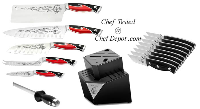 Knuckle Sandwich Series Chef knife set