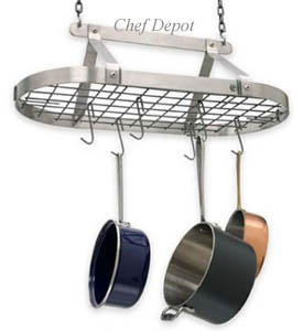Stainless Pot Rack