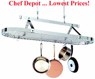 Five Foot Oval Pot Rack