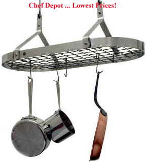 Our Favorite Contemporary Pot Rack