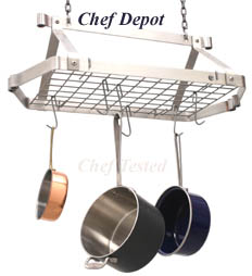 classic oval pot rack
