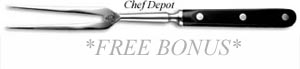 Free Forged Carving Fork