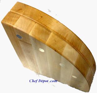 Maple Magnet Knife Block
