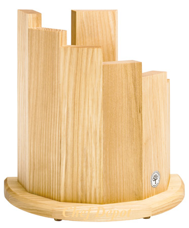 olive Magnet Knife Block