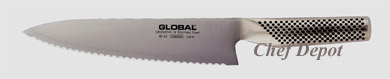 8 in. Global Serrated Knife Sale