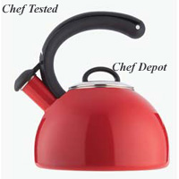 Gourmet Red Tea Kettle