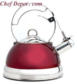 Elegant Red Tea Pot / Kettle
