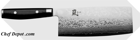 Yaxell Chinese Chefs Knife, Handmade in Seki City Japan