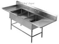 Commercial Sink Three Comartment Sink Hand Sink Mop