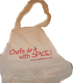 Free Apron for Cooks and Chefs