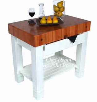 John Boos Butcher Blocks Chopping Block Kitchen Carts Products At Prices Chef Cooks