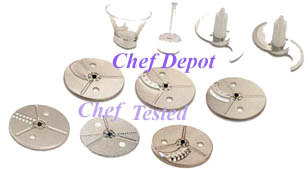 Waring Food Processor Accessories